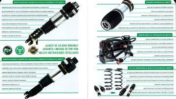 Distribuidor para Valladolid de suspensiones Arnott